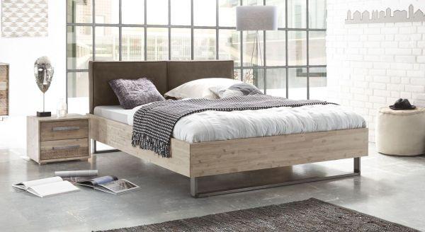 Design Holzbett Lugos Komplett