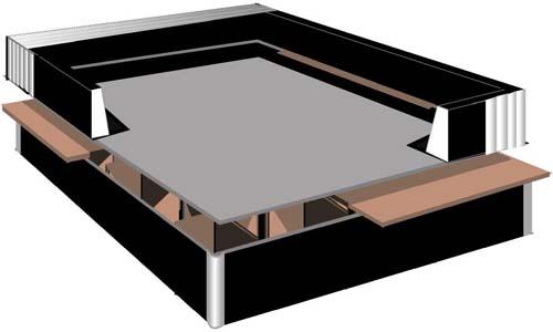 wasserbett schaumrahmen wasserbetten boxspringbetten bremen. Black Bedroom Furniture Sets. Home Design Ideas