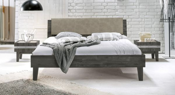 Design Holzbett Gandia Komplett