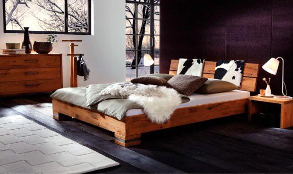 Wasserbettmatratze  90x200 cm inkl. Oakline Wild Cadro 18 mit Sion Kopfteil inkl. Road Füße