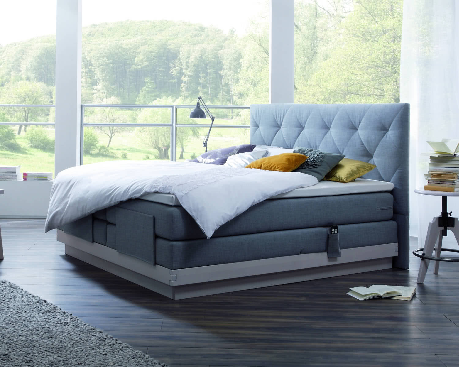 hasena boxspringbett massiva rocc paris xl boxspringbetten bremen. Black Bedroom Furniture Sets. Home Design Ideas