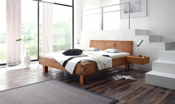 Design Bed Oak-Wild Beverley Hills Full Size