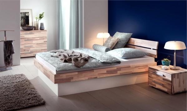 Gel-Wasserbett 140x200 inkl. Woodline Classic Practico