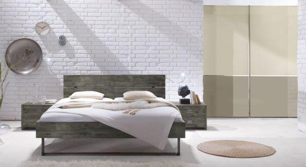 Design Holzbett Murcia Komplett