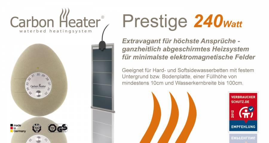 tbd carbon heater prestige heizung boxspringbetten bremen. Black Bedroom Furniture Sets. Home Design Ideas
