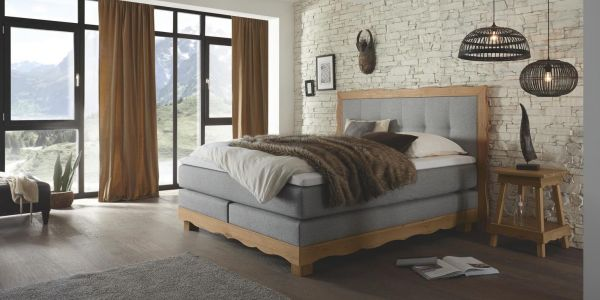 Boxspringbett Sölden 3000 TFK Talalay Topper
